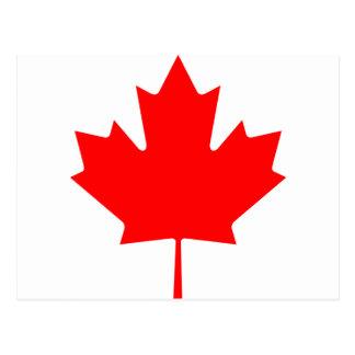 Canadá - folha de bordo cartão postal