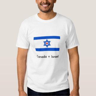 Canadá + Israel Tshirt