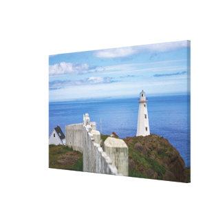 Canadá, Terra Nova, nacional 3 da lança do cabo Impressão De Canvas Envolvidas