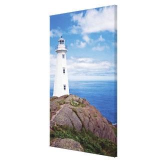 Canadá, Terra Nova, nacional da lança do cabo Impressão Em Tela Canvas