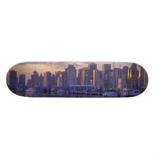 Canadá, Vancôver, Columbia Britânica. Vancôver Shape De Skate 18,4cm