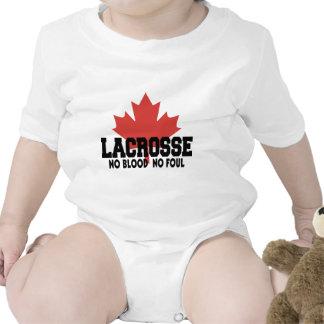 Canadense do Lacrosse de Canadá Tshirt