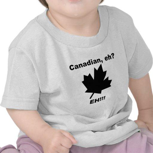 Canadense eh? camisetas
