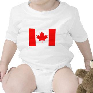Canadense FlagPattern Babadores