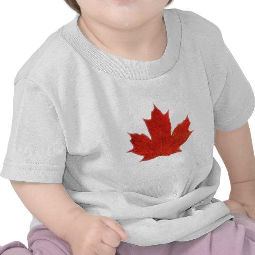 Canadense… Folha de bordo Camiseta