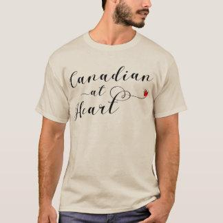 Canadense na camiseta do coração, Canadá