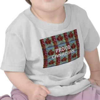 Canadense orgulhoso t-shirt