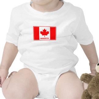 Canadense Sasquatch Macacãozinho Para Bebês