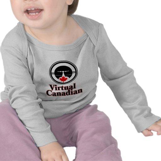 Canadense virtual camisetas