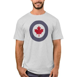 Canadian Air Force roundel/emblem amazing t-shirt