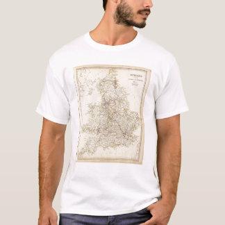 Canais de Inglaterra, estradas de ferro Camiseta