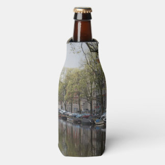 Canais em Amsterdão, Holland Porta-garrafa