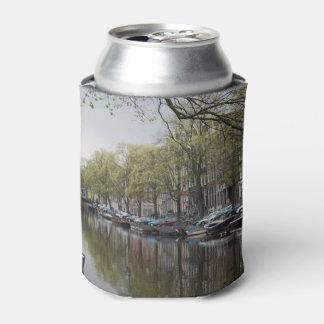 Canais em Amsterdão, Holland Porta-lata