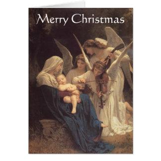 """""""Canção cartão de Natal dos anjos"""""""