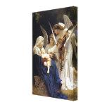 Canção das canvas dos anjos impressão de canvas envolvida