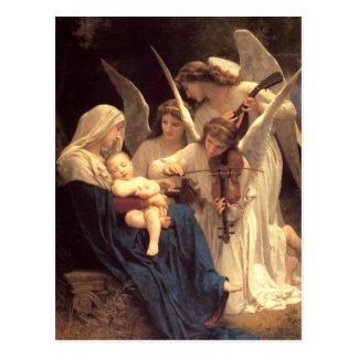 Canção dos anjos cartão postal