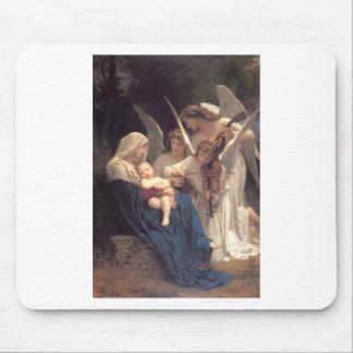 Canção dos anjos - William-Adolphe Bouguereau Mousepad