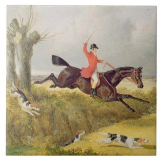 Cancelando uma vala, 1839 (óleo no painel)