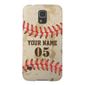 Cancele o basebol legal do vintage capas par galaxy s5