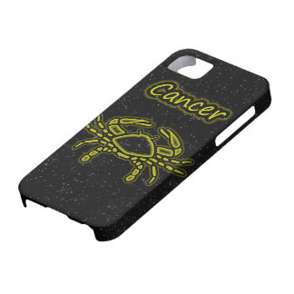 Cancer brilhante capa barely there para iPhone 5