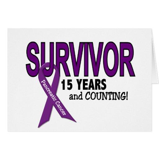 Câncer de pâncreas SOBREVIVENTE de 15 ANOS Cartao