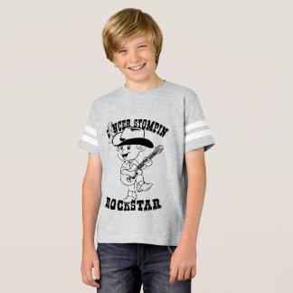 Cancer Stompin Rockstar Camiseta