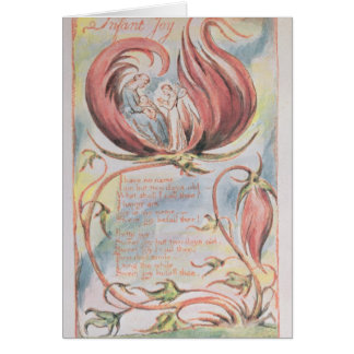 Canções da inocência; Alegria infantil, 1789 Cartão Comemorativo