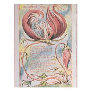 Canções da inocência; Alegria infantil, 1789 Cartão Postal