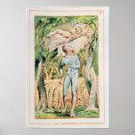 """Canções da inocência; """"o gaiteiro"""", 1789 poster"""