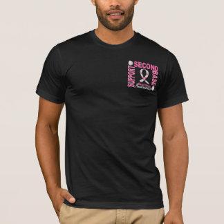 Cancro da mama da segunda base 1 camiseta