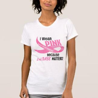 Cancro da mama EU VISTO O ROSA PARA a ?a BASE 33,2 Tshirt
