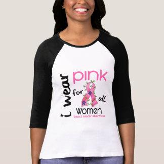 Cancro da mama EU VISTO o ROSA PARA TODAS AS Camiseta