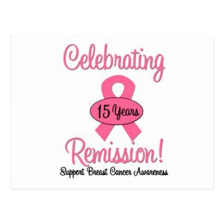 Cancro da mama uma remissão de 15 anos cartoes postais