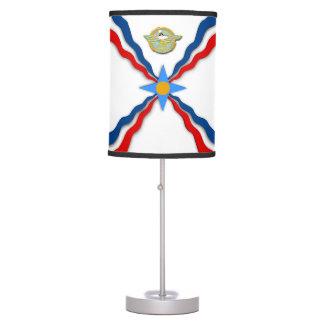 Candeeiro de mesa Assyrian da bandeira
