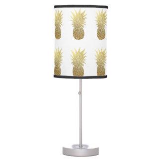 Candeeiro de mesa do abacaxi do ouro luminária de mesa