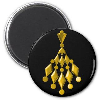 Candelabro do ouro imãs
