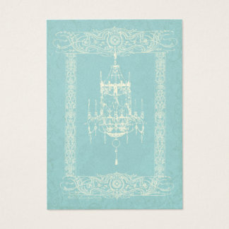 Candelabro elegante & cartão de visita feito sob