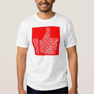 Candidato presidencial de Donald Trump 2016 Camisetas