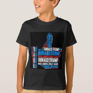 Candidato presidencial de Donald Trump 2016 T-shirt