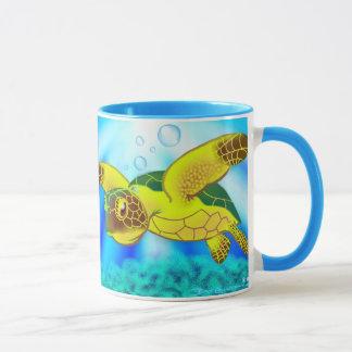 Caneca 12c da tartaruga de mar