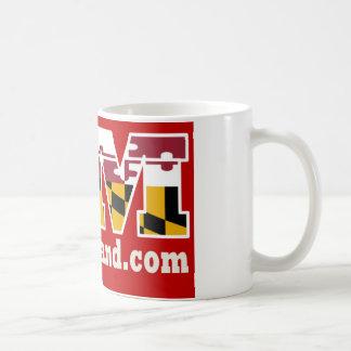 Caneca 2018 vermelha do logotipo de Maryland