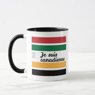 Caneca 3 canadense tradicional da cobertura
