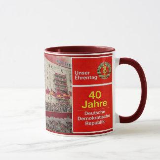 Caneca 40 anos de RDA East Germany