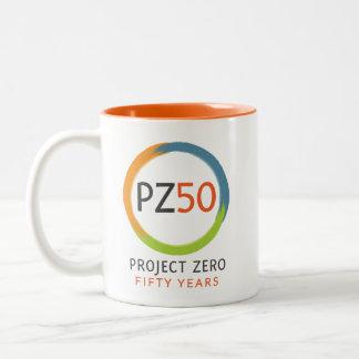 Caneca 50 do projeto zero