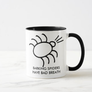 Caneca a aranha do descascamento, ARANHAS do