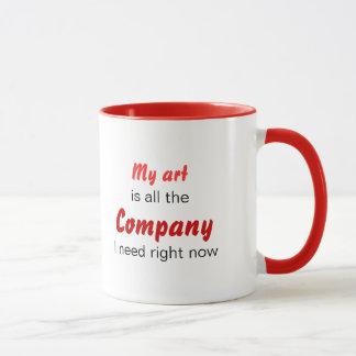 Caneca A arte é empresa