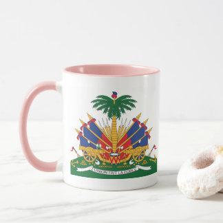 Caneca A brasão de Haiti