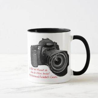 Caneca A câmera de Pachelbel