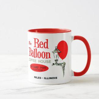 Caneca A casa vermelha do café do balão, Niles, Illinois