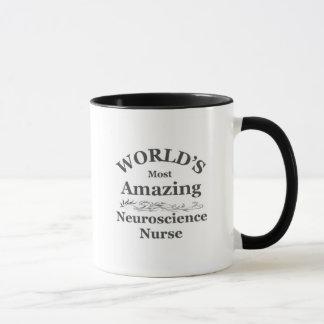Caneca A enfermeira a mais surpreendente da neurociência